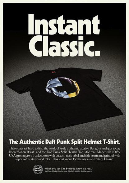 Camisetas Daft Punk