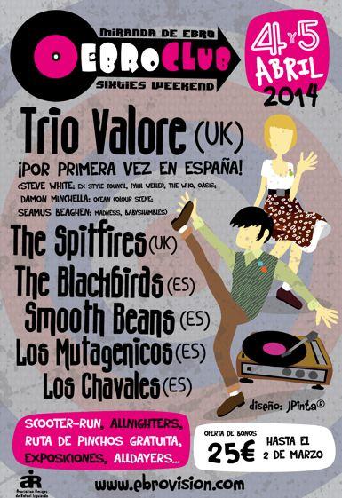 Ebroclub 2014 cartel