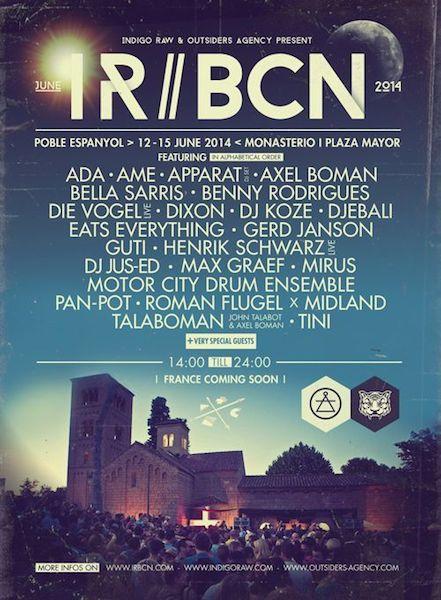 IR BCN 2014 - Cartel