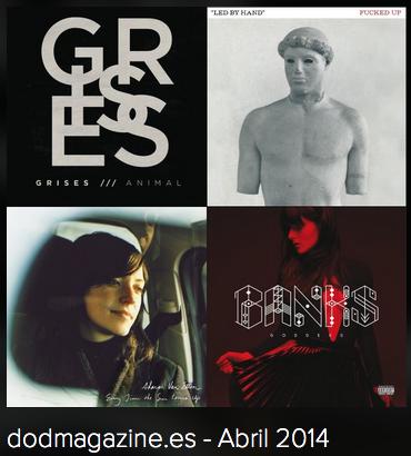 Indie playlist de Spotify Dod Magazine – Abril 2014