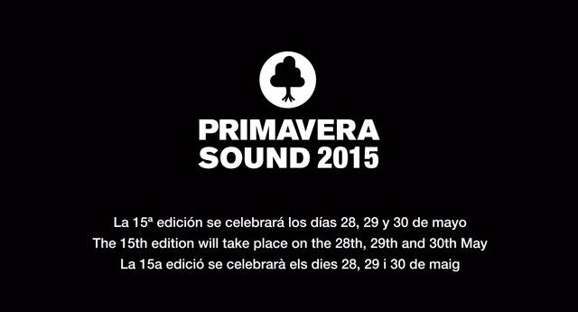Primavera Sound 2015 - Teaser