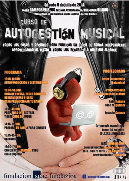 Curso de autogestión musical en Bilbao