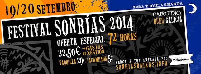 Festival SonRías Baixas 2014