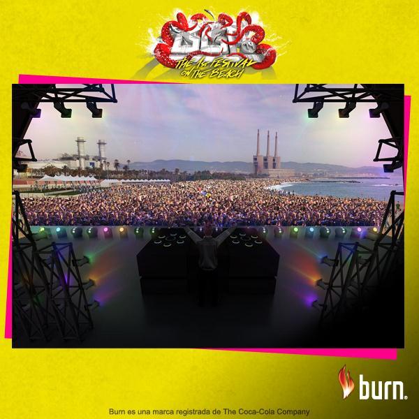 Barcelona Beach Festival - Burn