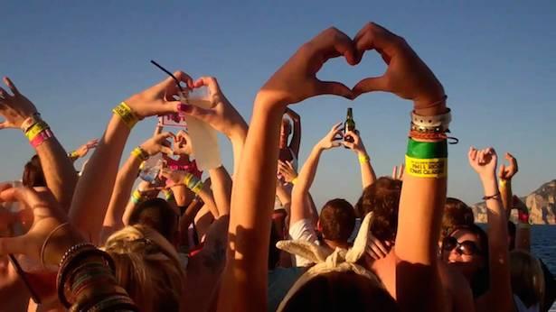 Las canciones más escuchadas en Ibiza - 2014