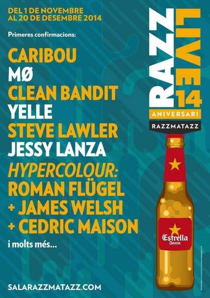 Razzmatazz Live 2014