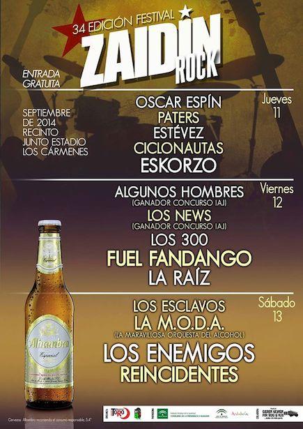 Zaidin Rock Festival 2014