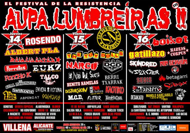 Aupa Lumbreiras 2014