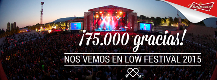 Low Festival 2015 - Gracias