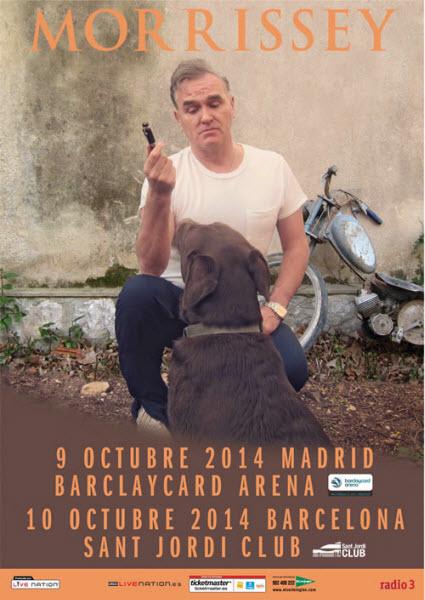 Concierto Morrissey Madrid y Barcelona