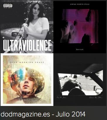 Indie playlist de Spotify Dod Magazine – Julio 2014