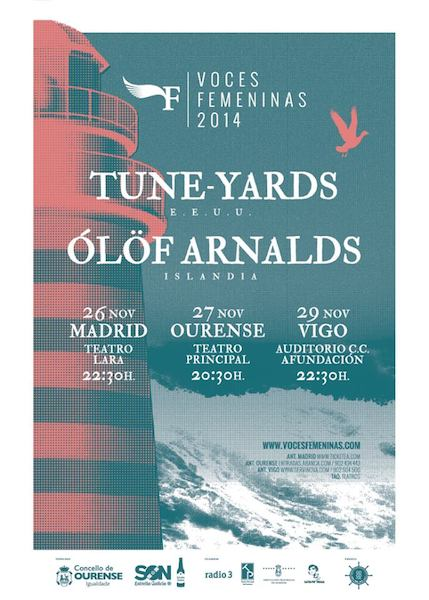 Voces Femeninas 2014 - Conciertos