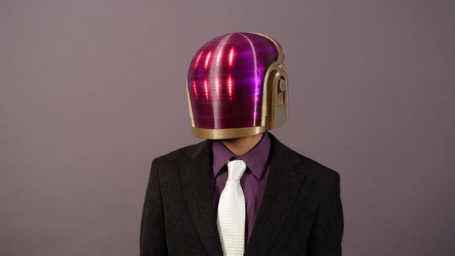 Como construir el casco de Daft Punk