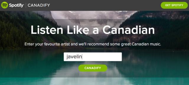 Canadify - Spotify