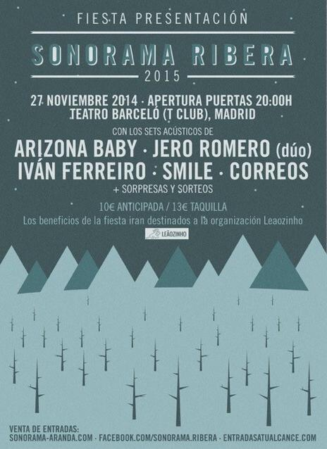 Sonorama 2015 - Fiesta Presentación