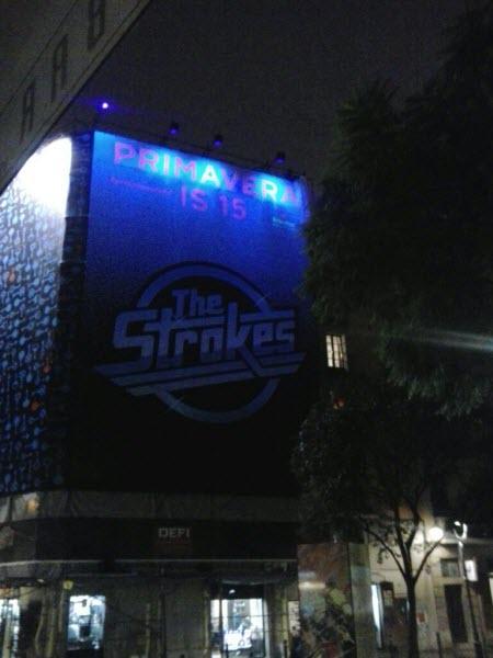 The Strokes Primavera Sound 2015