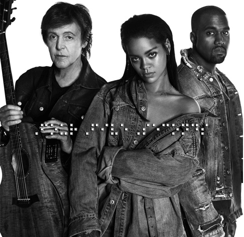 Rihanna - Kanye West - FourFiveSeconds