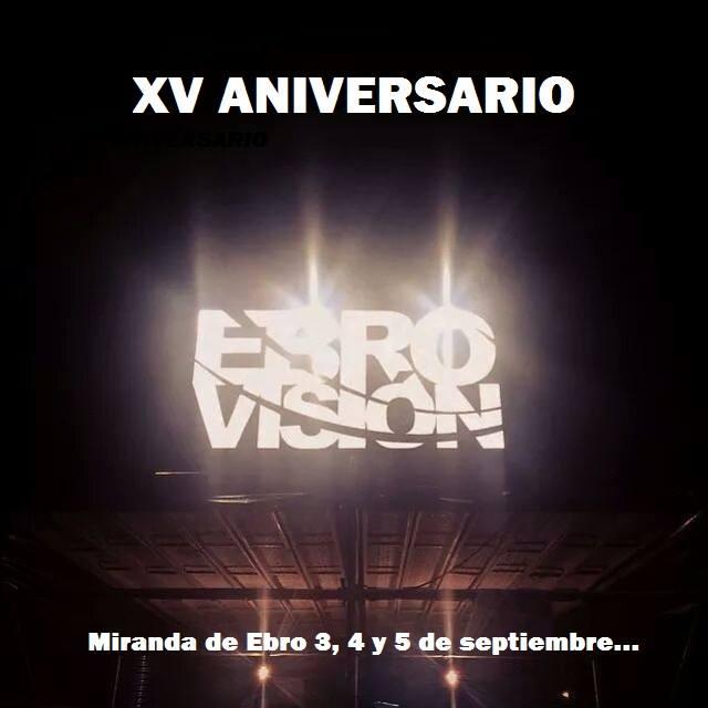 Ebrovisión 2015 - Aniversario