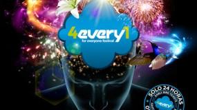 Horarios del 4EVERY1 FESTIVAL 2015