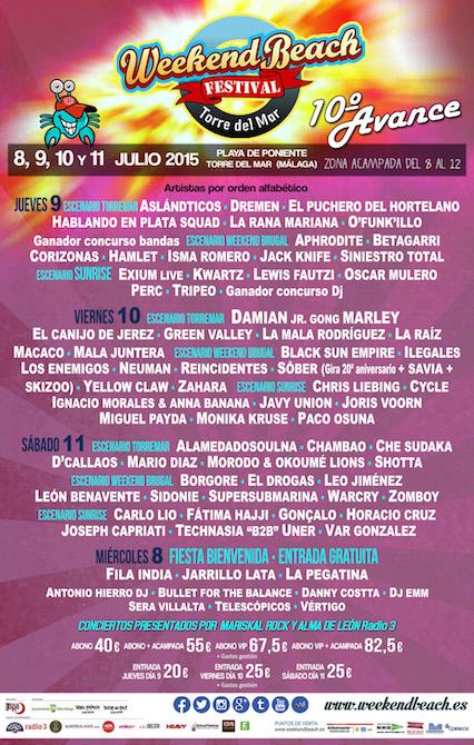 Weekend Beach Festival 2015