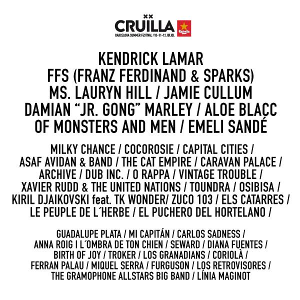 Cruïlla Barcelona 2015