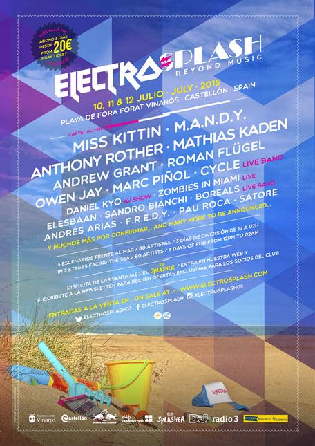 ElectroSplash WafterParties 2015