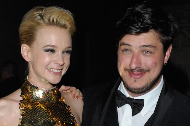 Marcus Mumford (Mumford and sons) y Carey Mulligan
