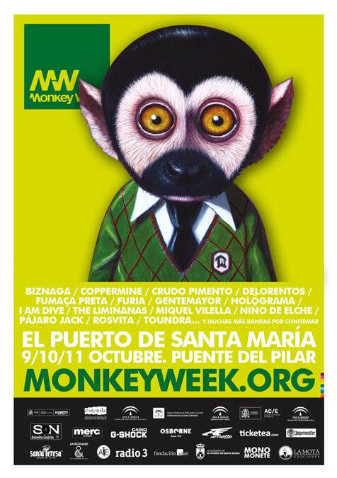 Monkey Week 2015 - Cartel provisional