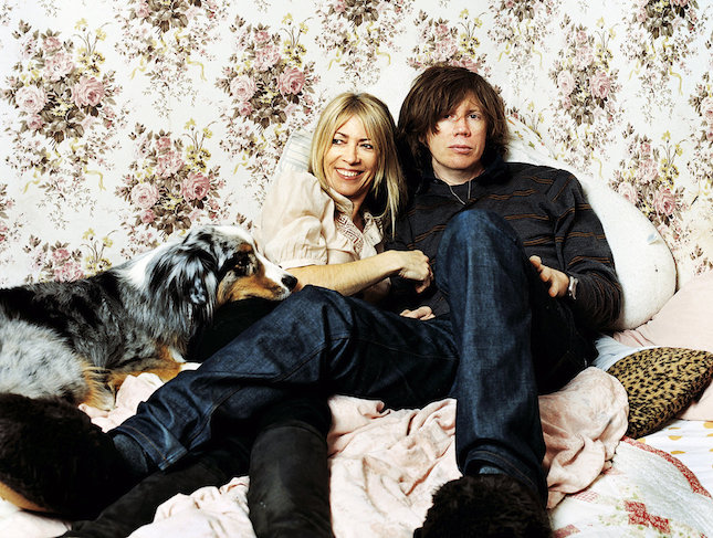 Thurston Moore y Kim Gordon (Sonic Youth)