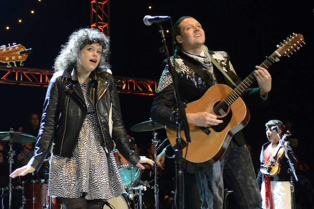 Win Butler y Regine Chassagne (Arcade Fire)