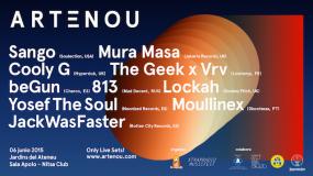 El festival ARTeNOU 2015 cierra cartel con  Sango, Mura Masa o JackWasFaster, entre otros