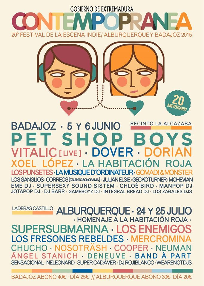 Contempopranea 2015 - Cartel