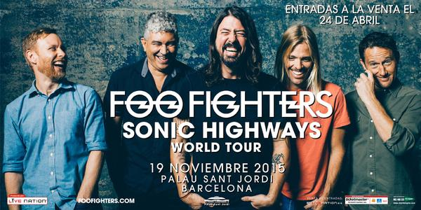 Foo Fighters - Gira por España - Barcelona