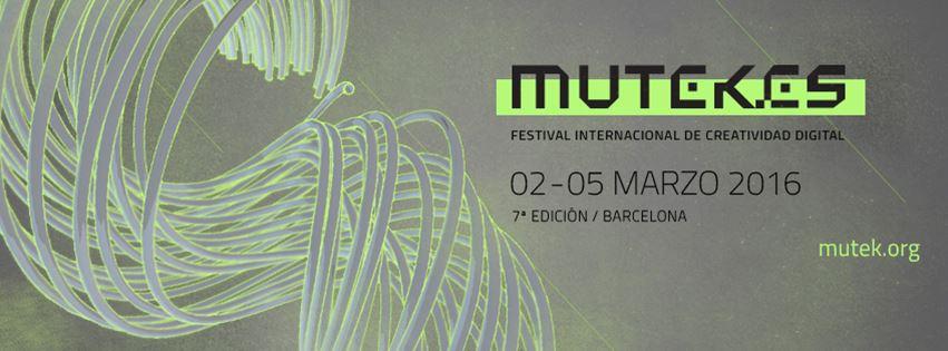 MUTEK 2016 BARCELONA