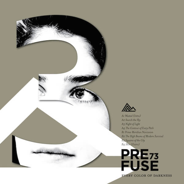 Portada de Every Color of Darkness - Prefuse 73