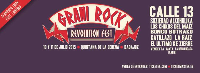 Grani Rock Revolution Festival 2015