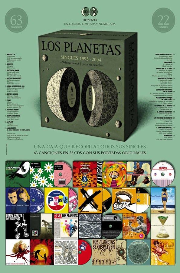Los Planetas - Singles 1993-2004