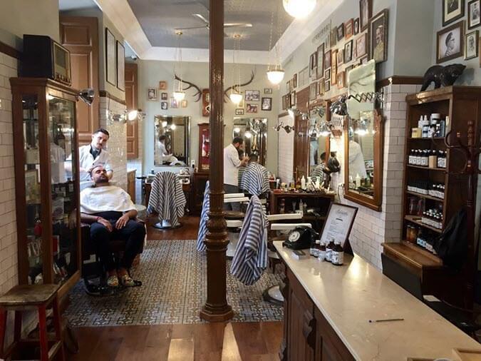 Barbería Malayerba en Madrid