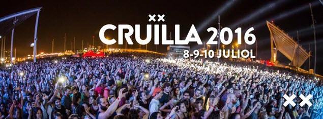 Cruïlla Barcelona 2016 - Fechas