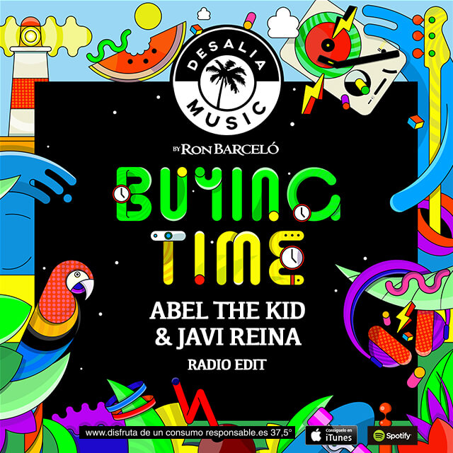 Escucha 'Buying Time', el nuevo single de Abel The Kid y Javi Reina para Desalia Music