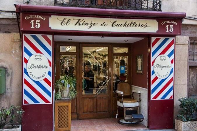 El Kinze Cuchilleros - Barbería Madrid