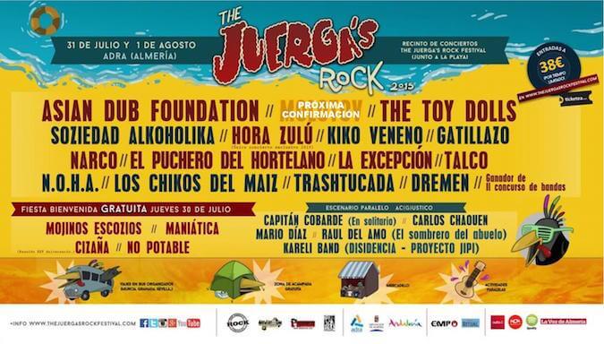 Juergas Rock Festival 2015