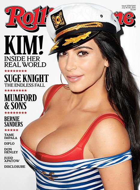 Kim Kardashian - Portada Rolling Stone