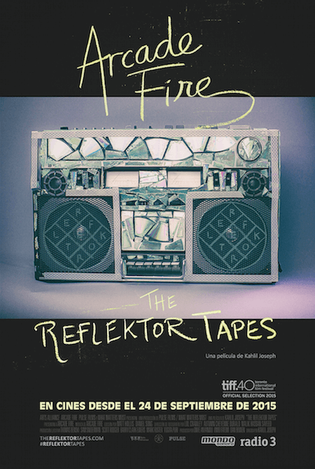 The Reflektor Tapes - Poster - Arcade Fire