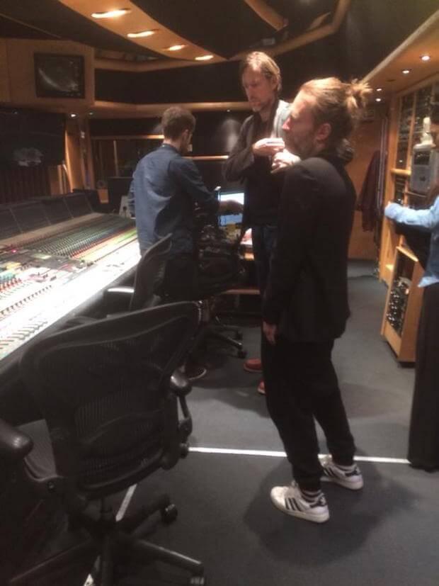 Radiohead - Estudio grabación (2015)