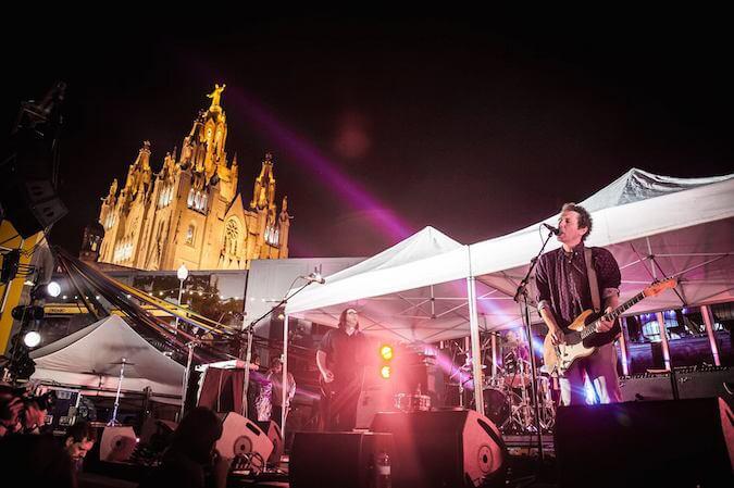 Yo La Tengo - Tibidabo Live Festival Barcelona