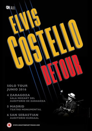 Conciertos Elvis Costello - Elvis Costello Detour