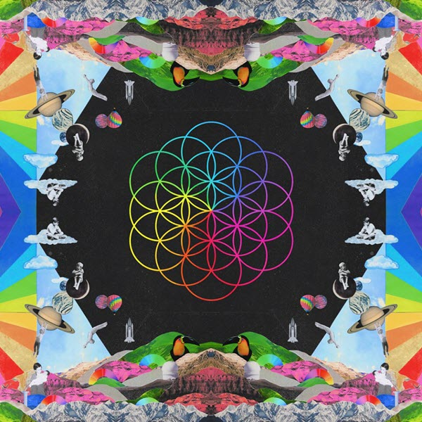 A Head Full of Dreams - Coldplay - Portada