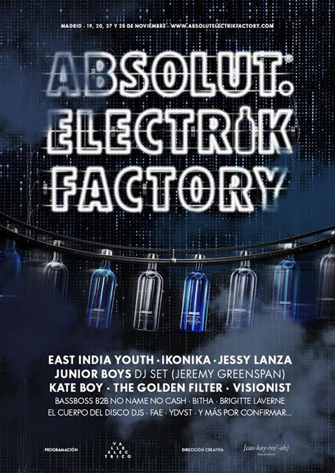 Absolut Electrik Factory Madrid