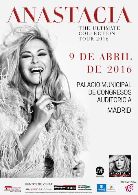 Concierto de Anastacia - Madrid 2016
